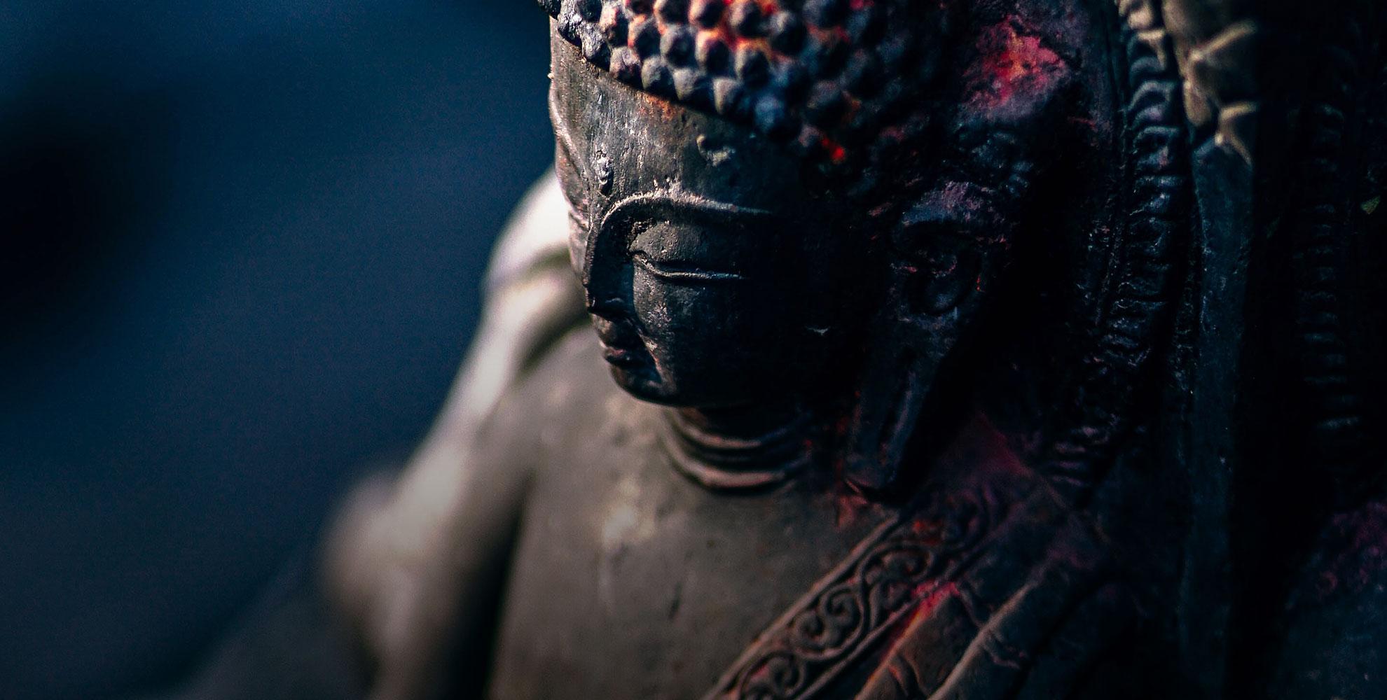 Fondo estatua Buda